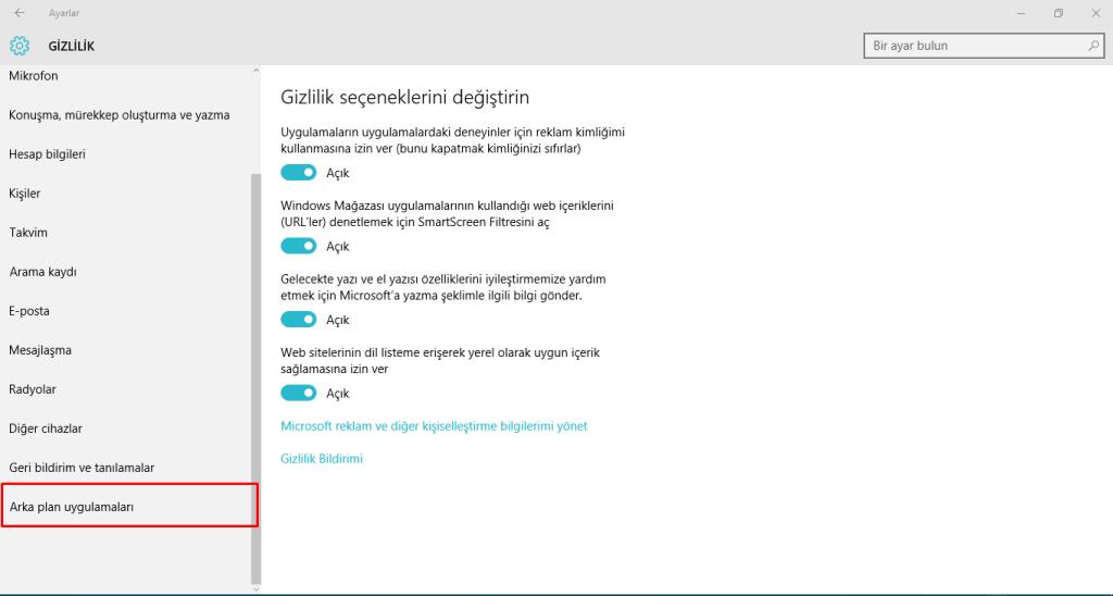 Windows-10-da-Arka-Planda-Çalışan-Uygulamaları-Durdurmak-5
