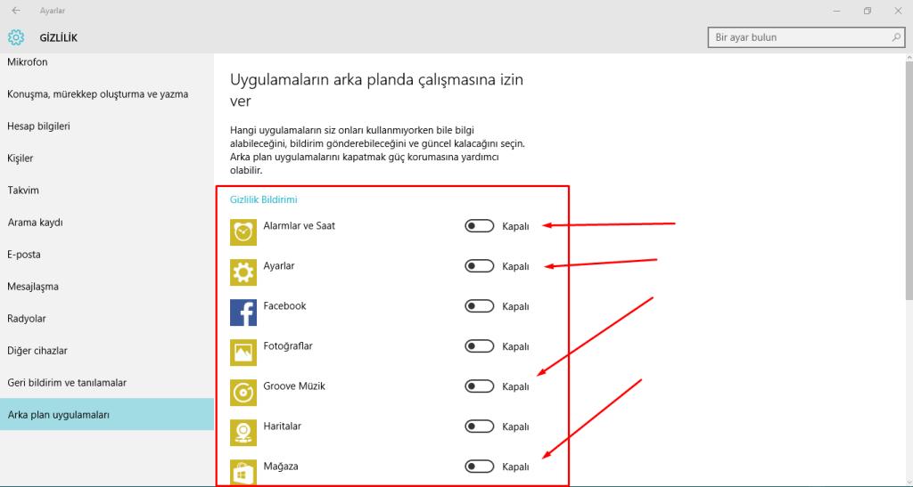 Windows-10-da-Arka-Planda-Çalışan-Uygulamaları-Durdurmak-7