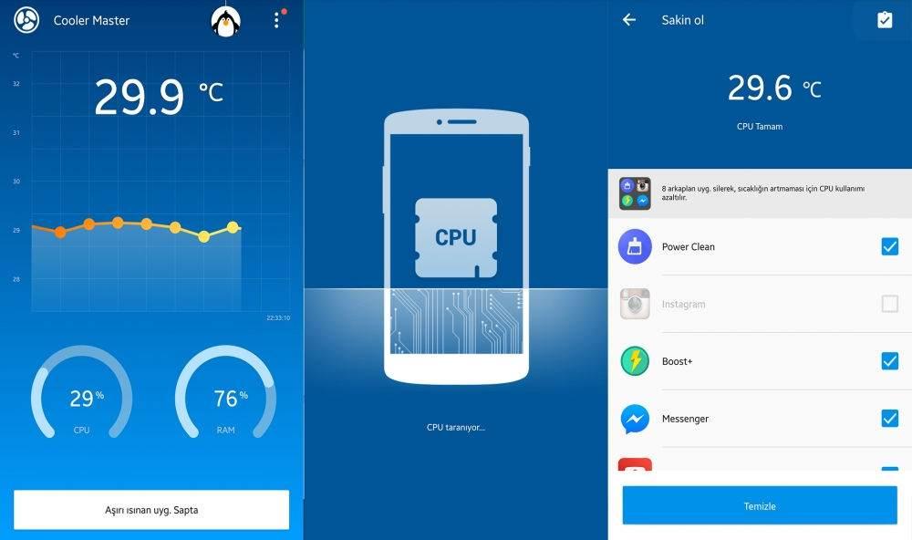 Android Telefonu Hızlandırmak için En İyi Uygulamalar-Profesyonel Telefon Soğutucu