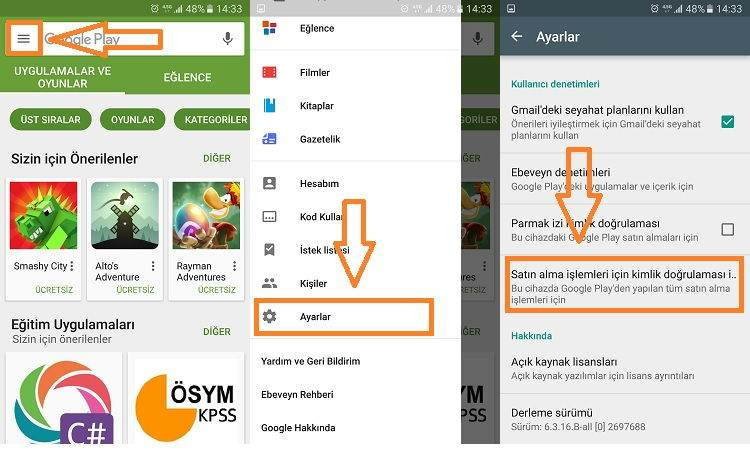 Android Uygulama İçi Satın Alma Kapatma-1