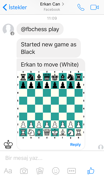 Facebook arkadaşlarınızla satranç oynayın