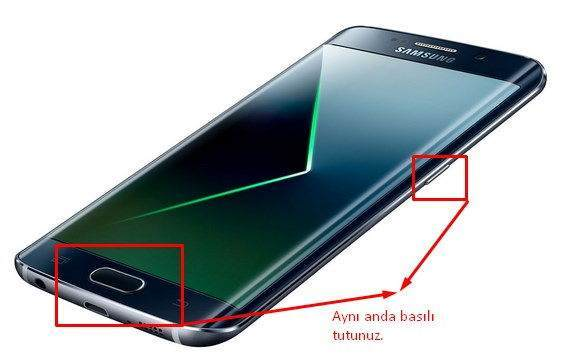 Galaxy S7 Galaxy S7 Edge Ekran Görüntüsü Nasıl Alınır - 2