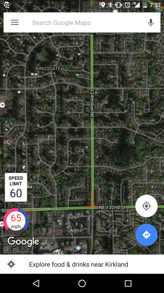 Google Maps'e Hız Göstergesi Ekleyin