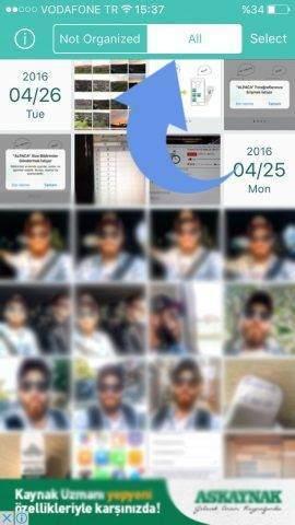 IOS Cihazlarda Fotoğraflar Toplu Şekilde Nasıl Silinir-3