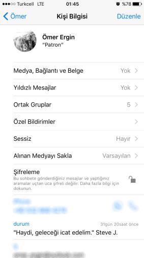 iPhone'da WhatsApp'ın Uçtan Uca Şifreleme Özelliği Nasıl Etkinleştirilir-2