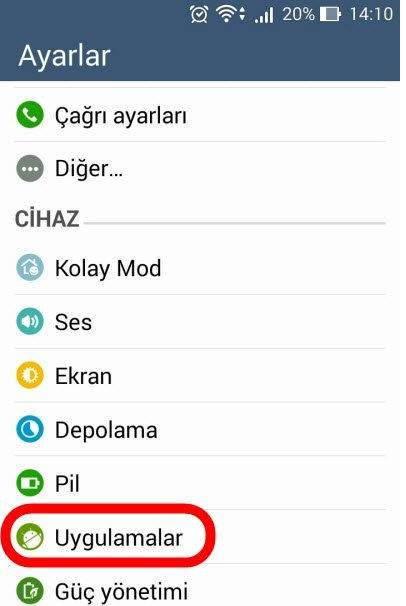 Android Sistem Arayüzü Durdu Hatası Çözümü 1