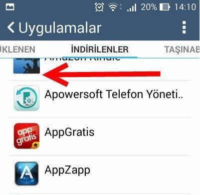Android Sistem Arayüzü Durdu Hatası Çözümü 2
