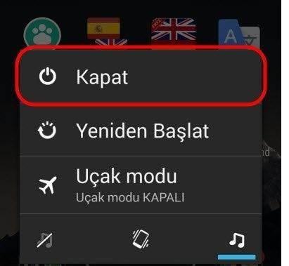 Android Telefon Açılırken Donma Sorunu Çözümü1