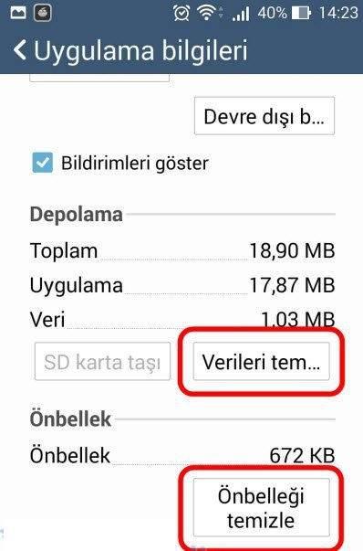 Google Play Durduruldu Hatası Çözümü 4