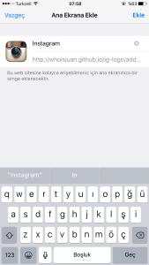 IOS'ta Eski Instagram İkonu Nasıl Tekrar Yüklenir2