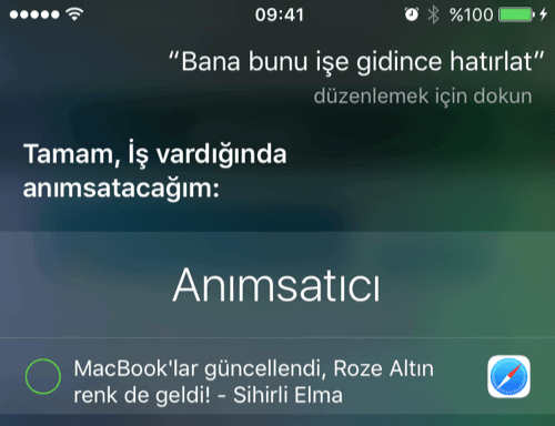 Siri'de Anımsatma Özelliği Nasıl Kullanılır-8