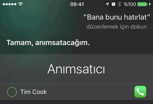 Siri'de Anımsatma Özelliği Nasıl Kullanılır? 1