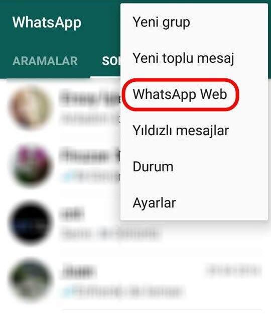 WhatsApp Bilgisayar Versiyonu Nasıl Kullanılır -2