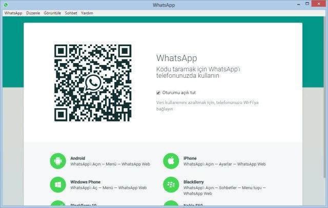 WhatsApp Bilgisayar Versiyonu Nasıl Kullanılır -3