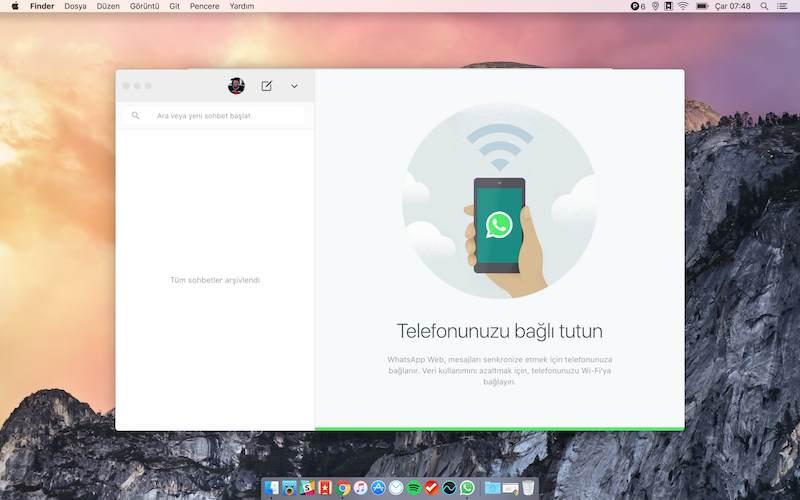 WhatsApp Bilgisayar Versiyonu Nasıl Kullanılır? 7