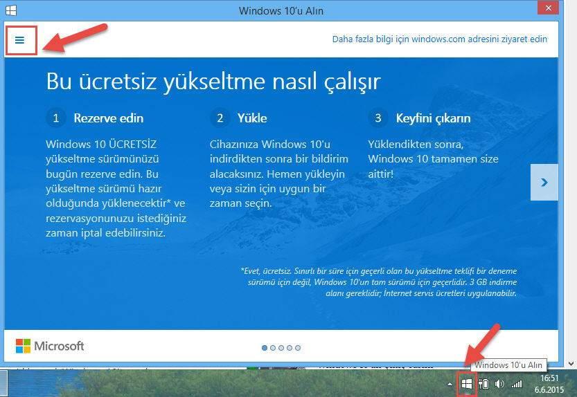 Windows 10 rezervasyonu nasıl iptal edilir-1