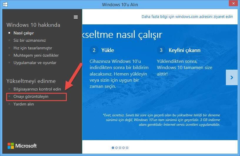 Windows 10 rezervasyonu nasıl iptal edilir-2
