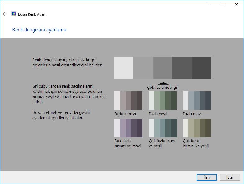 Windows Daha iyi monitör rengi elde edin