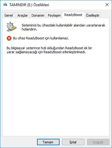 Windows Ram dopingi