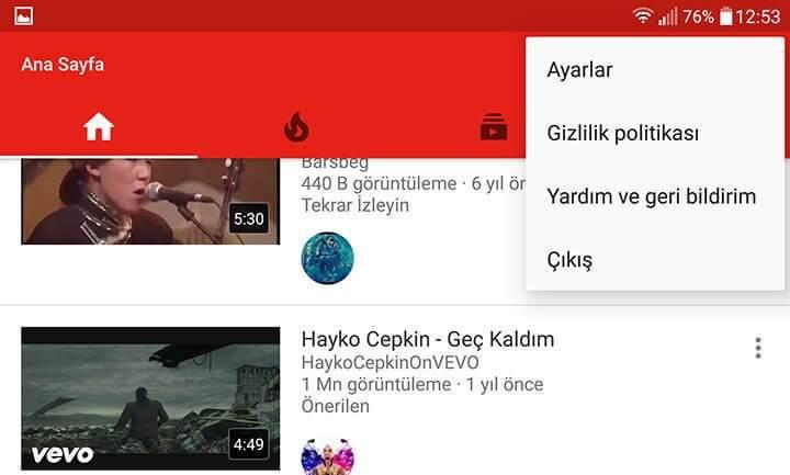 Youtube için Mobil Veri Kullanımı Sınırlaması Nasıl Yapılır-2