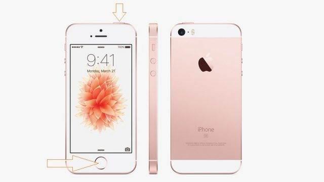 iPhone SE'de Ekran Görüntüsü Nasıl Alınır-1