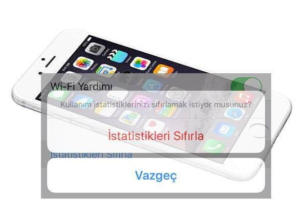 iPhone ile Hücresel Veri İstatistikleri Nasıl Sıfırlanır? 3