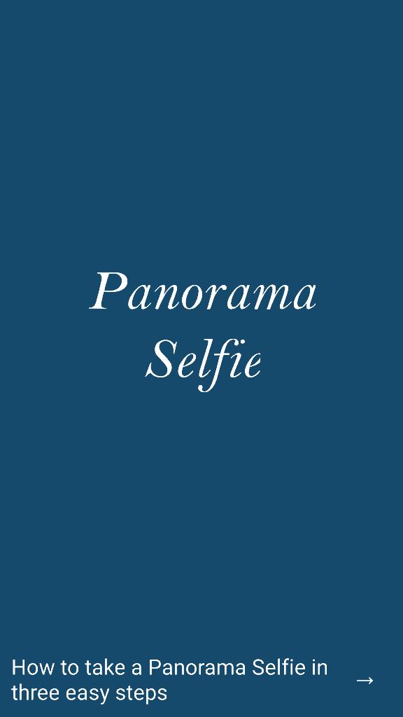Android Telefondan Panoramik Selfie Nasıl Çekilir1