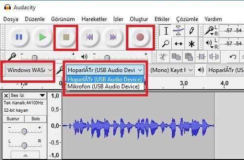 Audacity ile Videolardaki Müzikleri Kaydetme