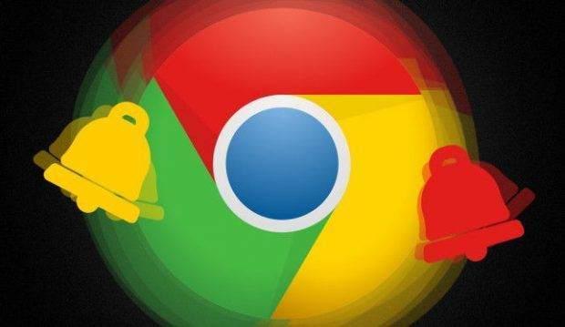 Chrome Masaüstü Bildirimlerini Devredışı Bırakma