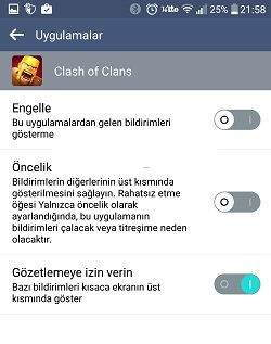 Clash Of Clans Bildirimlerini Açma ve Kapama Nasıl Yapılır3