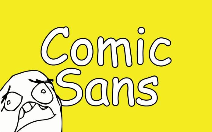 Comic Sans Yazıtipi Hakkında 9 İlginç Bilgi