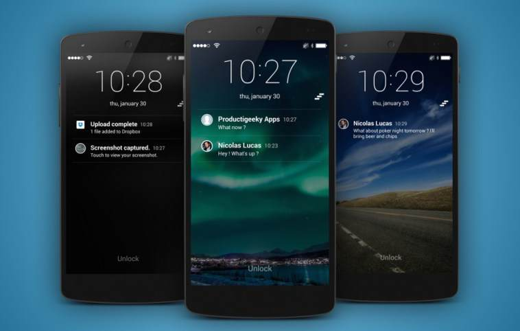En İyi 7 Android Kilit Ekranı Uygulaması 9