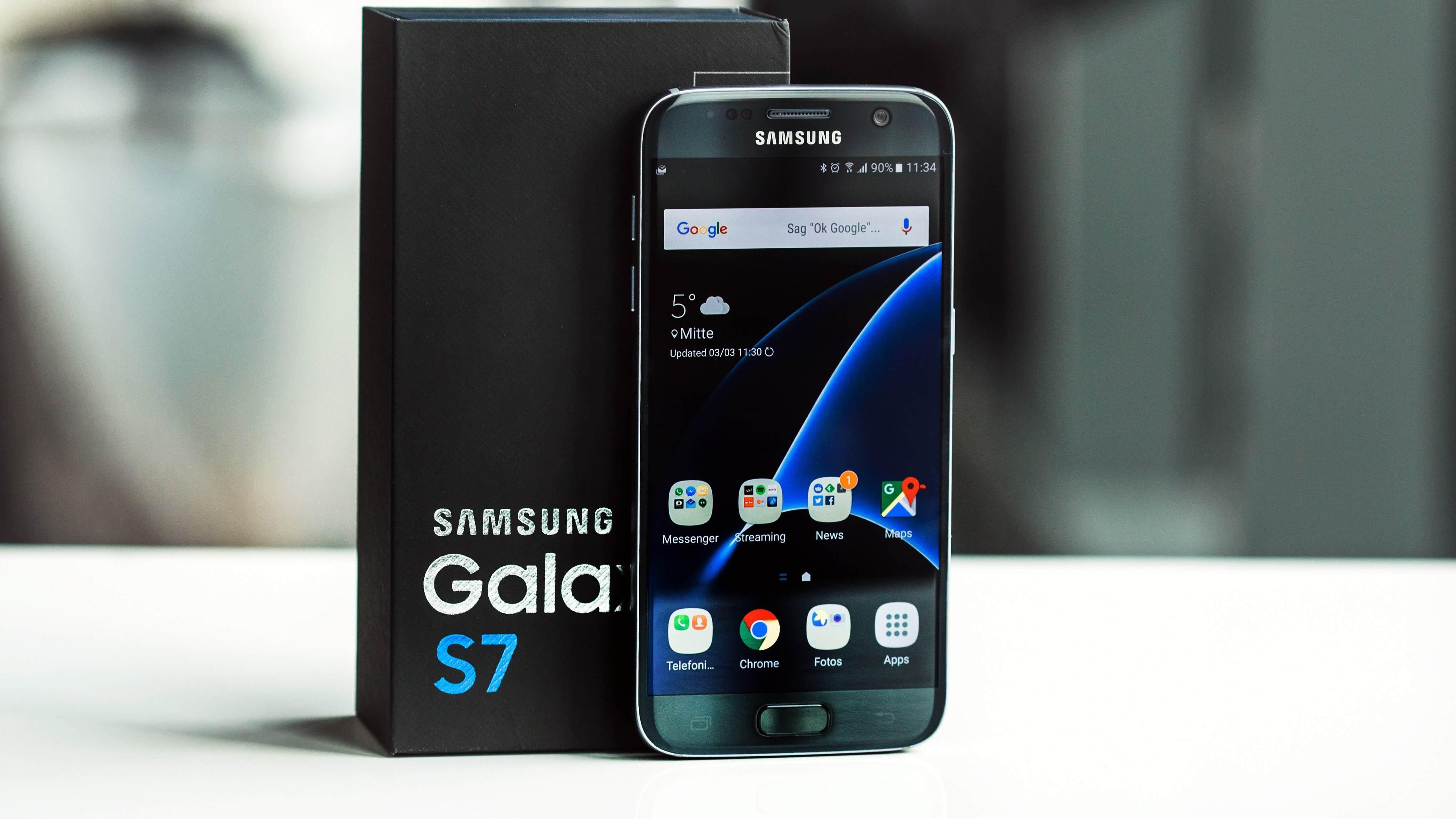 Galaxy S7 - En Yüksek Ekran Çözünürlüğüne Sahip Akıllı Telefonlar