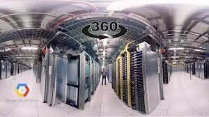 Google'ın Veri Merkezinde 360 Derece Gezinti