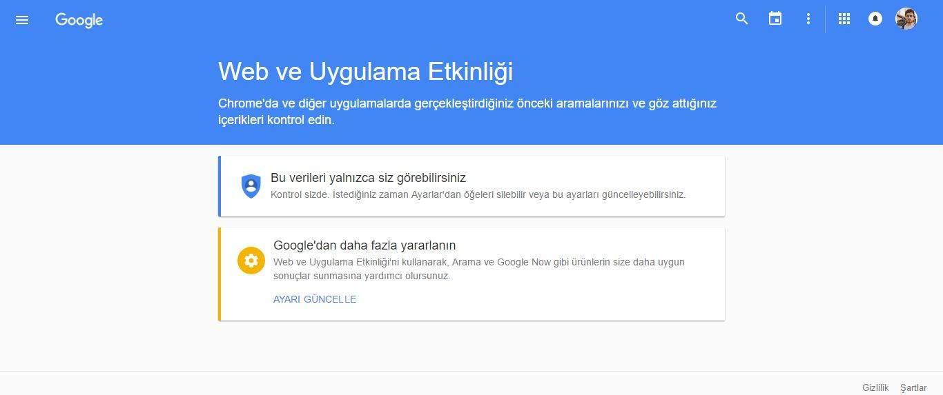 Google'daki Sesli Aramalarınızın Kayıtları Nasıl Silinir1