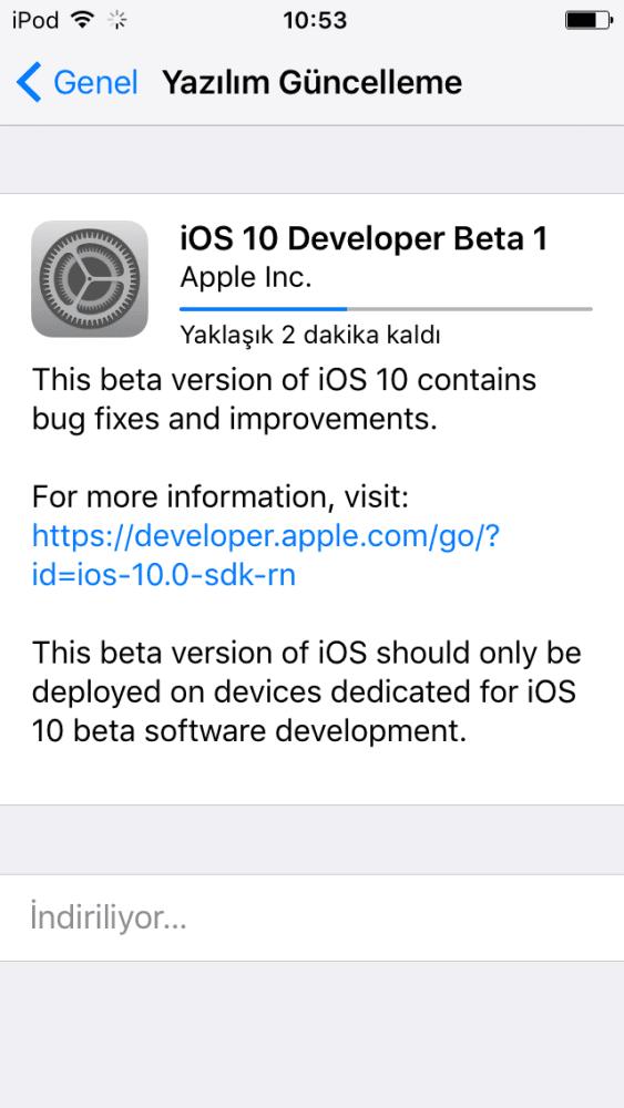 iOS 10 Nasıl Yüklenir1