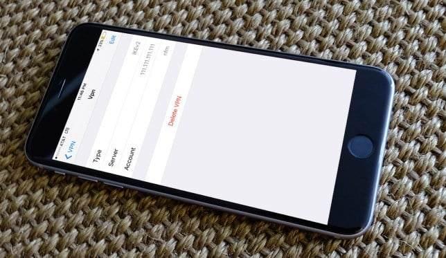 iPhone'da VPN Nasıl Kaldırılır? 1