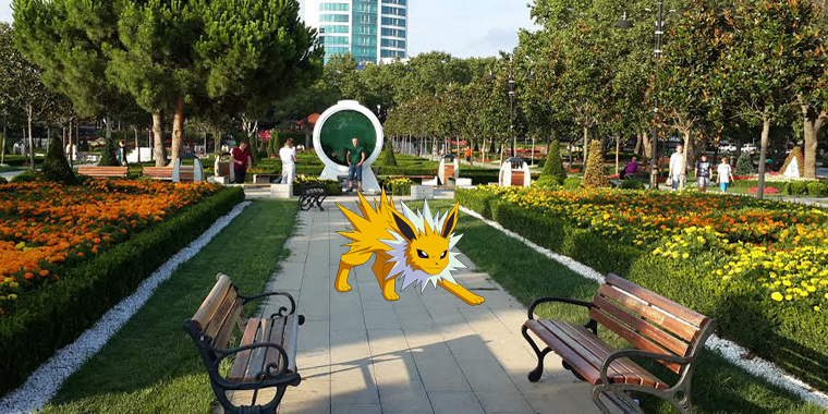 pokemon go göztepe özgürlük parkı
