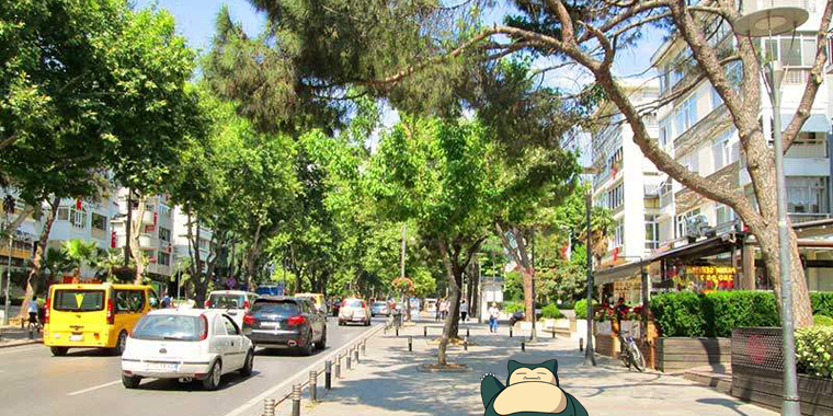 pokemon go bağdat caddesi