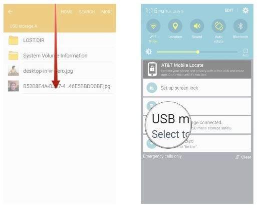 Android Telefona USB Bellek Bağlama3
