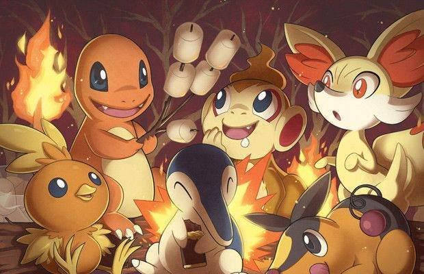 Ateş Türü Pokemonlar ve Zararları