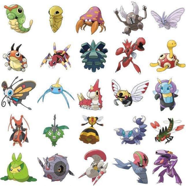 Böcek Türü Pokemonlar ve Zararları