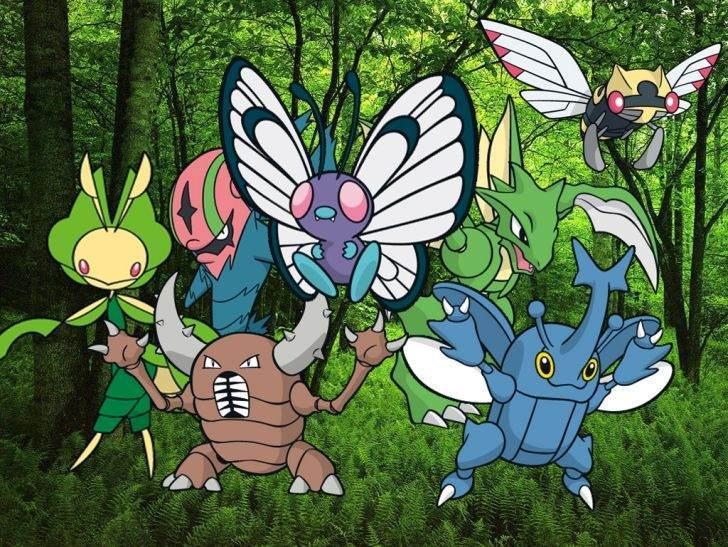 Böcek tipi Pokemonlar