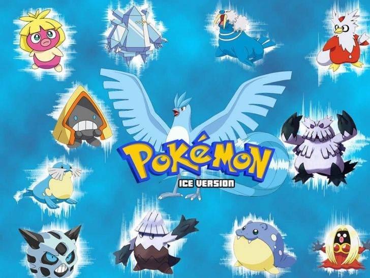 Buz tipi Pokemonlar