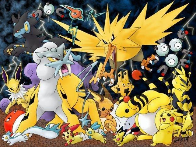 Elektrik Türü Pokemonlar ve Zararları