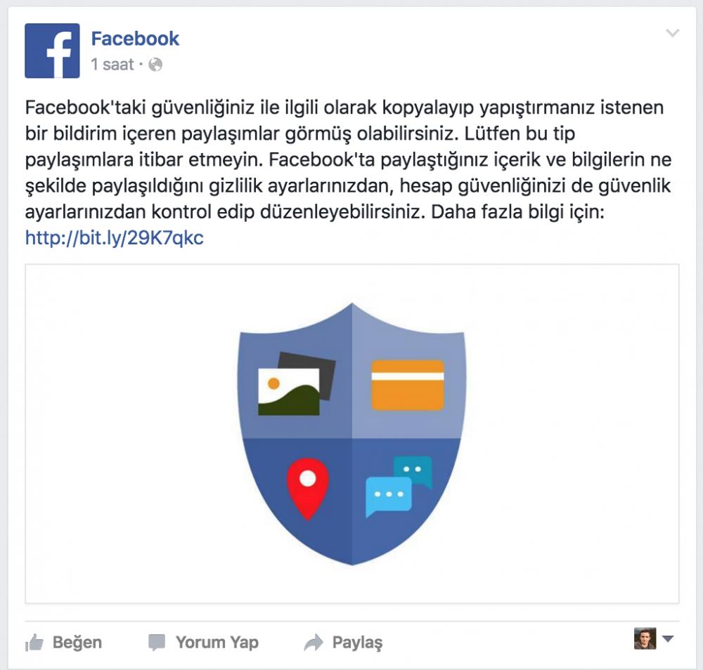 FaceBook'ta Durum Çok Ciddi Saçmalığı1