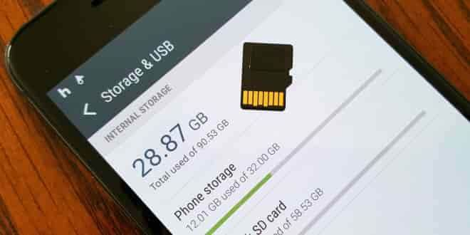 Galaxy S7'de Hafıza Kartını Telefon Hafızasına Dönüştürme 1