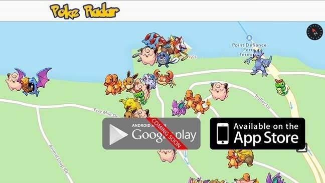 IOS ve Android için Poke Radar Uygulaması 2