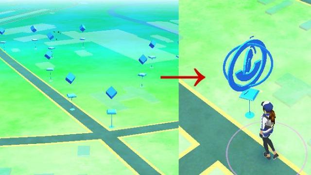 Nearby, PokeStop, Gym Nedir2