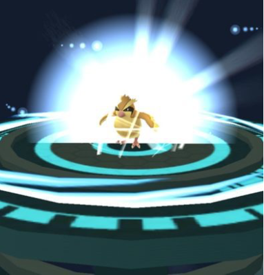 Pokemon Go Evolve